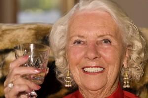 older lady pretty teeth