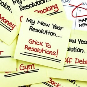 new year resolutions